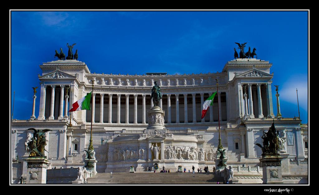 Llegada a Roma