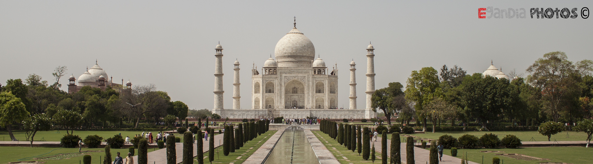Taj Mahal desde Delhi