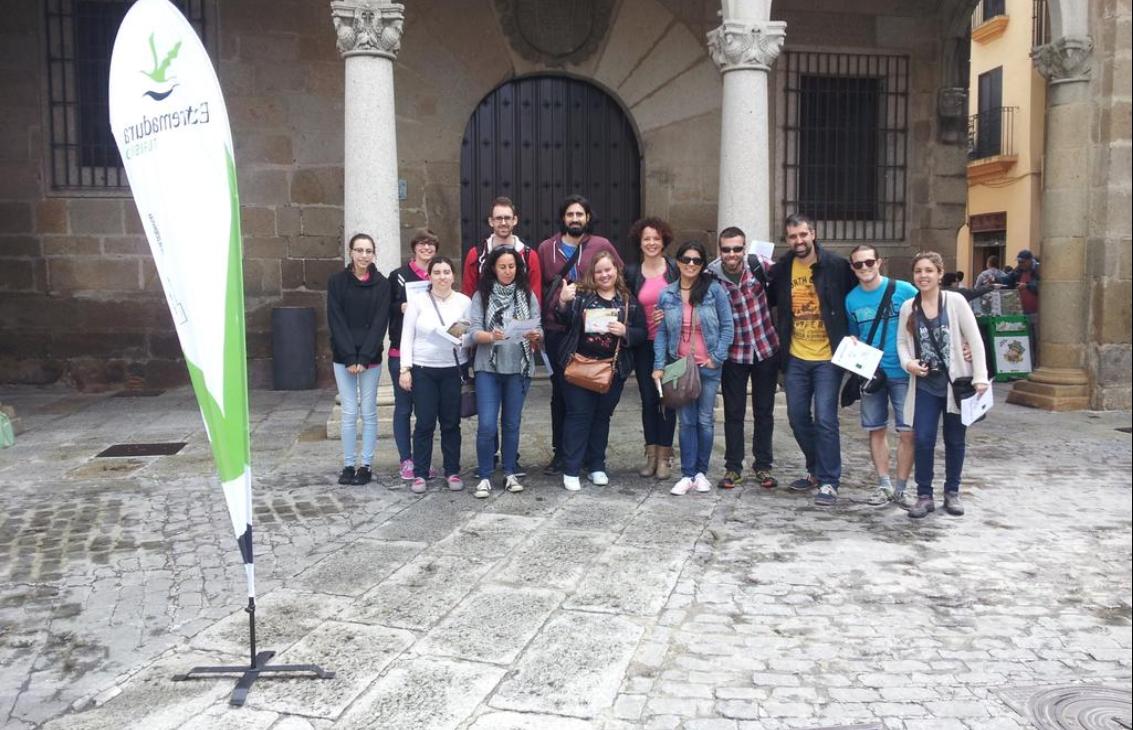 Gymkhana en el #TBMPlasencia
