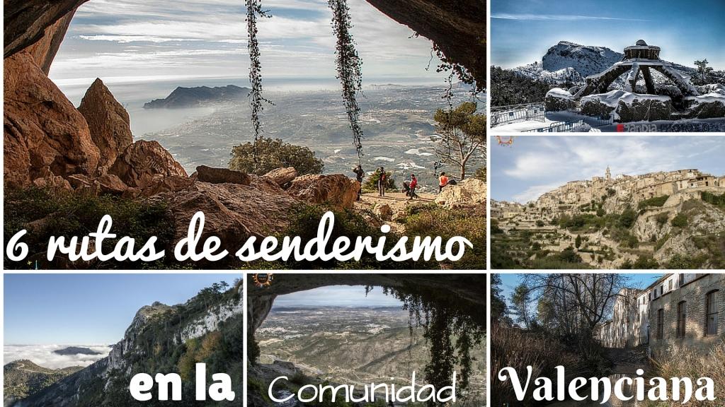 senderismo en la comunidad valenciana