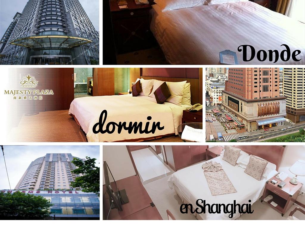 Donde dormir en Shanghai