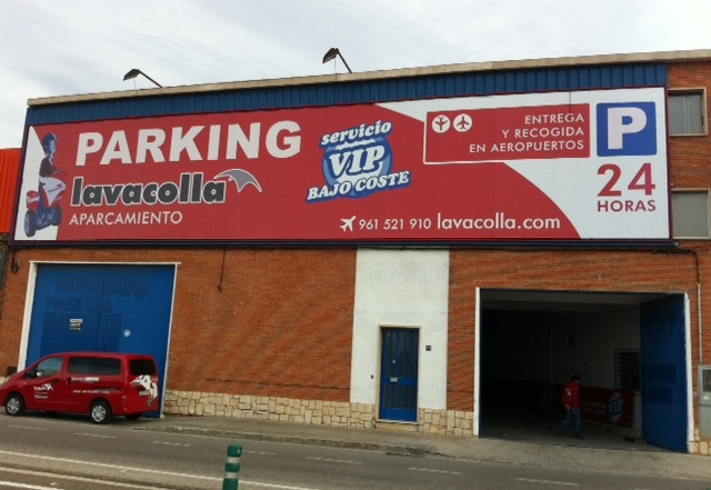 parking lavacolla