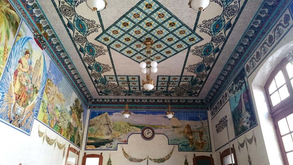 sala de los mosaicos