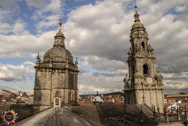 tejados catedral de Santiago