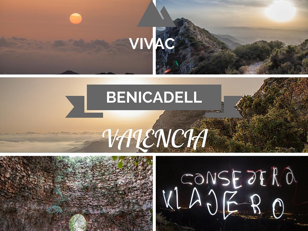 Vivac Benicadell Valencia, duerme bajo las estrellas
