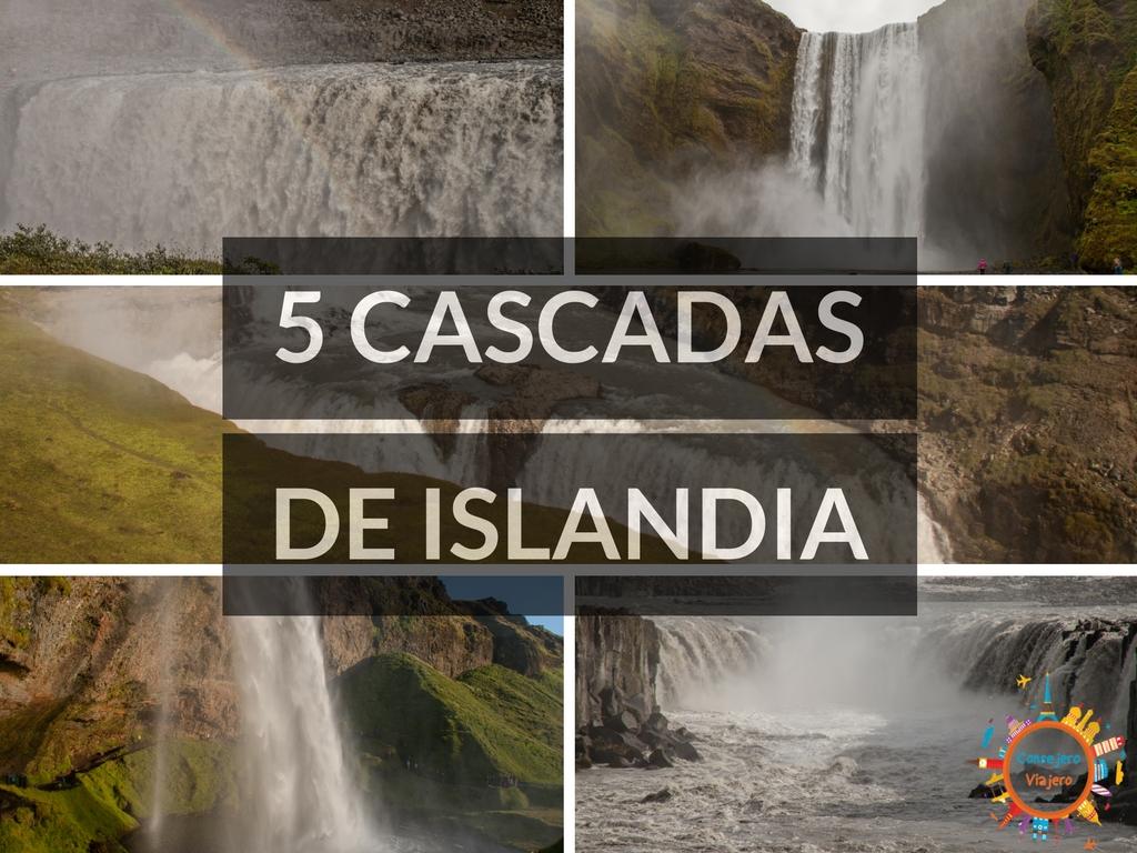5 Cascadas de Islandia
