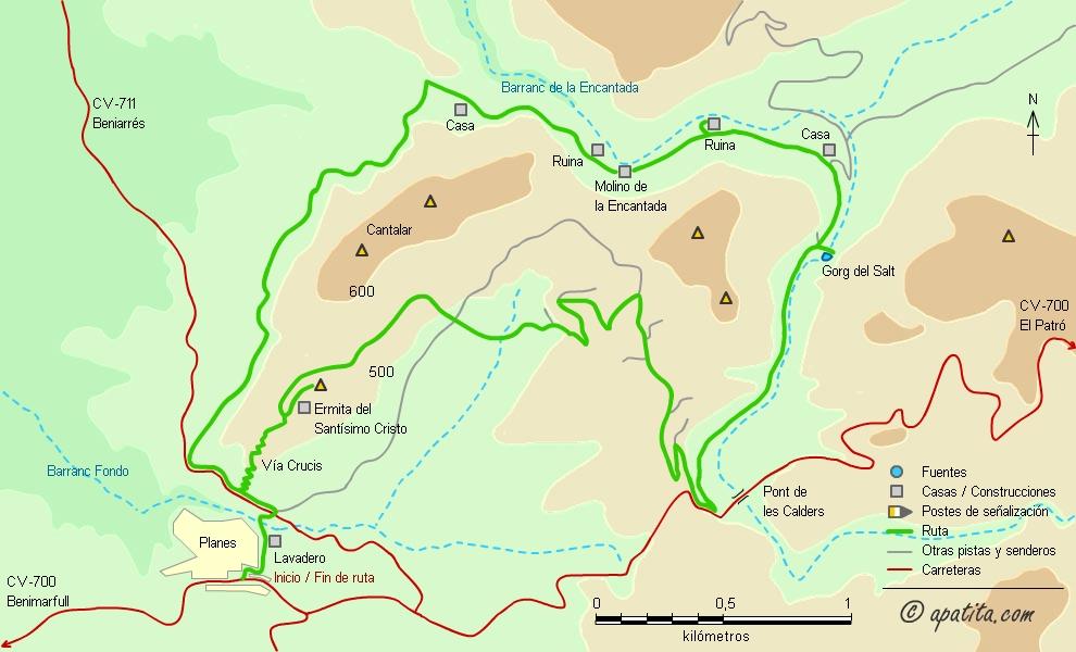 barranc_encantada_mapa