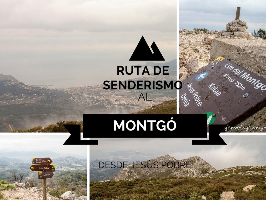 Ruta al Montgo desde Jesús Pobre, senderismo en Alicante