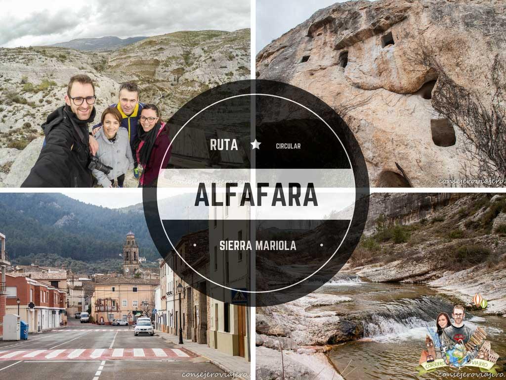 Ruta circular por Alfafara, a los pies de la Sierra Mariola