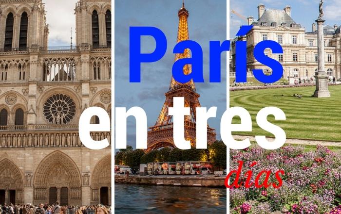 París en tres dias