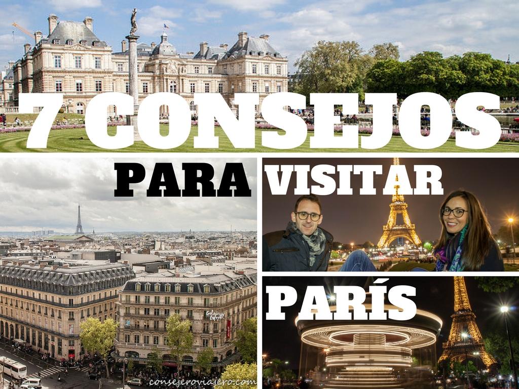 7 Consejos para visitar París