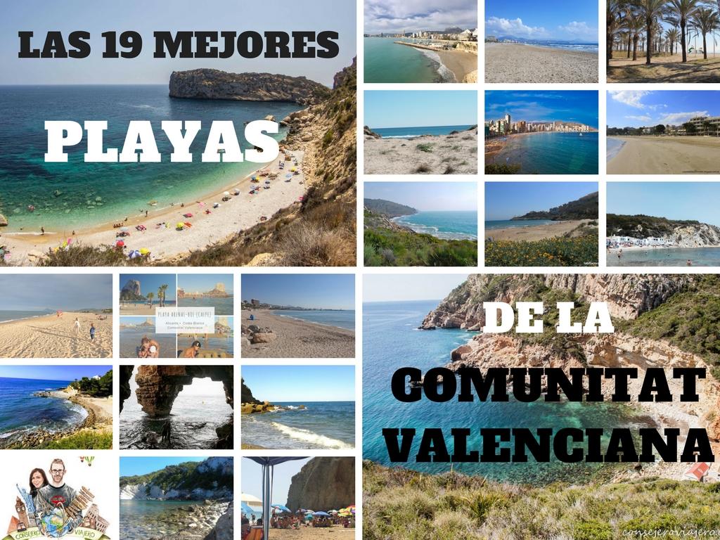 Las 19 mejores playas de la Comunidad Valenciana