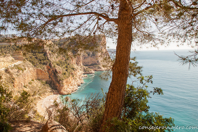 Ruta de los acantilados de Benitatxell