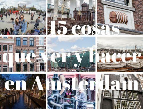15 cosas que ver y hacer en Amsterdam