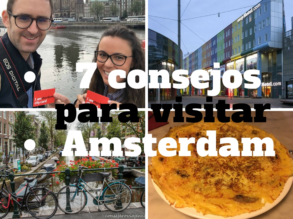 7 consejos para visitar Amsterdam