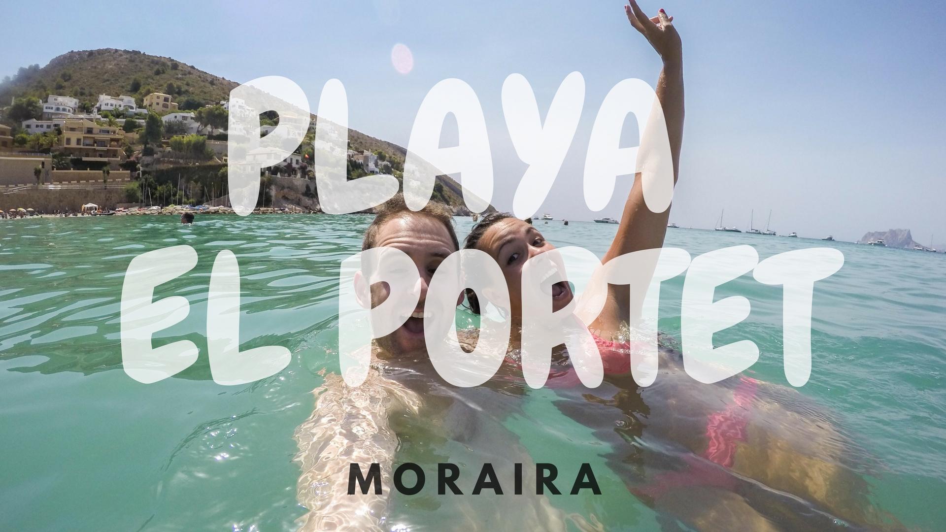Playa el Portet, Moraira