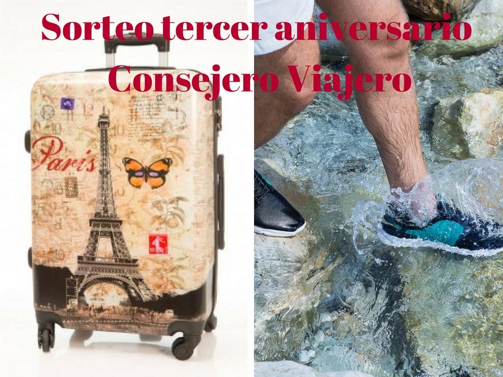 Sorteo tercer aniversario Consejero Viajero