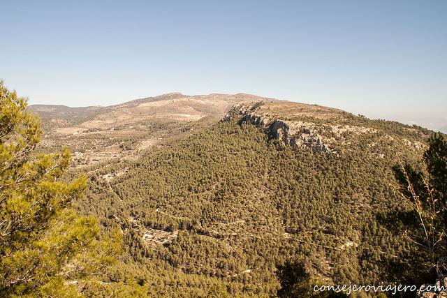 Ruta Barranc del Cint alt de la Pedrera, Alcoy