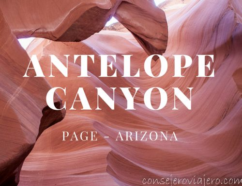 El Antelope Canyon Page – Arizona