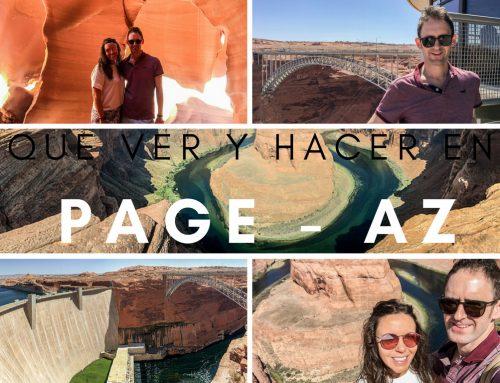 Que ver y hacer en Page, Arizona