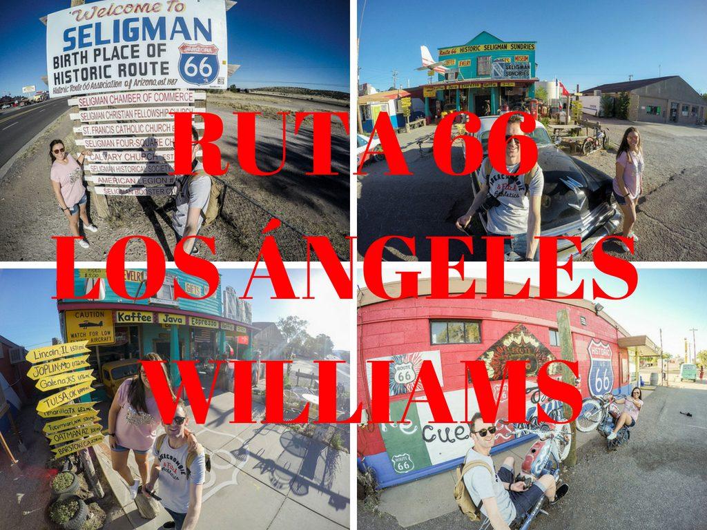 ruta 66 de Los Angeles a Williams