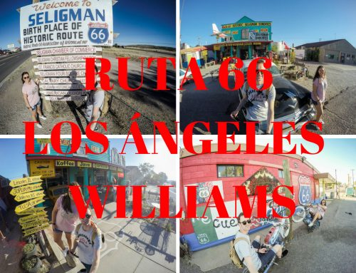 Ruta 66 de Los Angeles a Williams