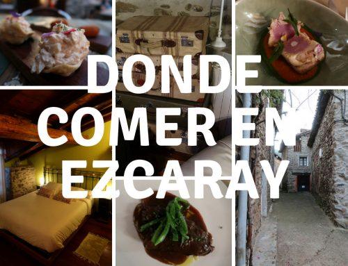 Donde comer en Ezcaray – La Rioja