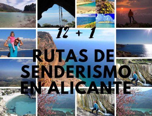 12+1 Rutas de senderismo en Alicante provincia
