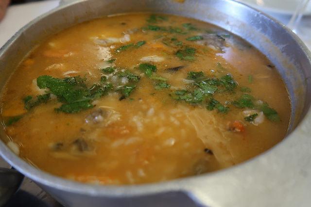arroz tamboril