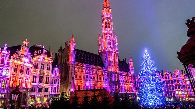 grand place christmas