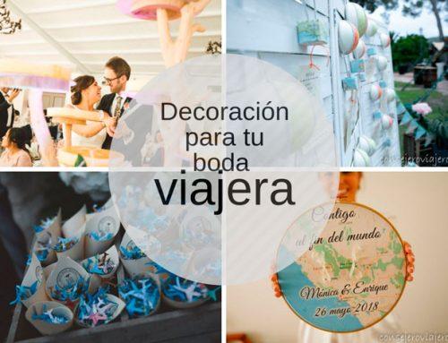 Boda viajera – decoración boda temática viajes | Wedding ideas