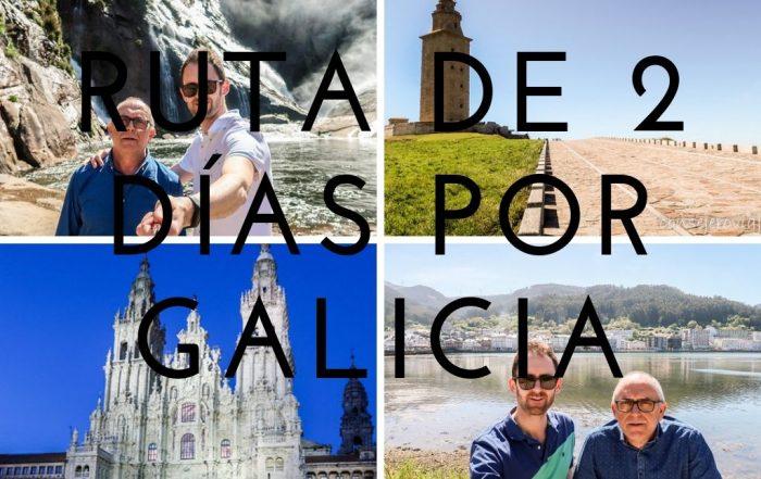 ruta de dos dias por galicia