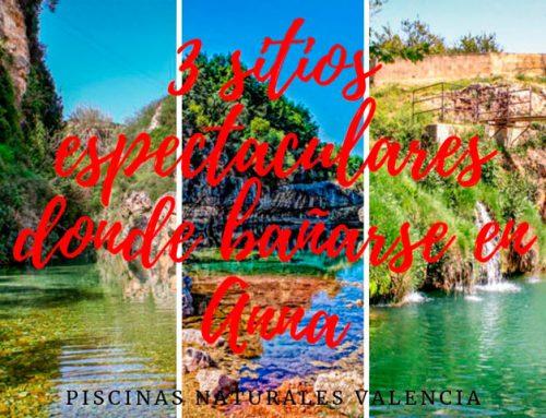 3 sitios espectaculares donde bañarse en Anna – piscinas naturales Valencia