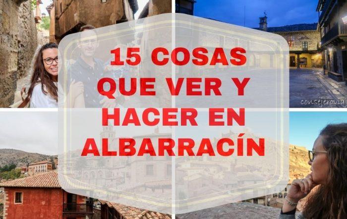 15 COSAS QUE VER Y HACER EN ALBARRACIN