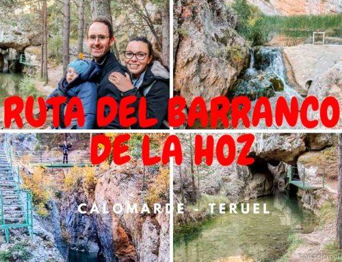 Ruta del Barranco de la Hoz desde Calomarde