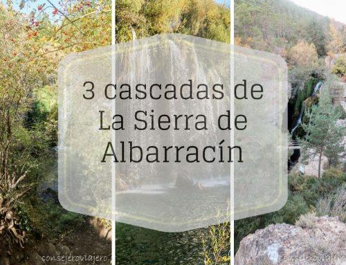 3 impresionantes cascadas de la Sierra de Albarracin