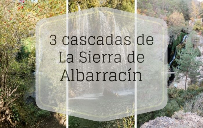 cascadas de la sierra de albarracin