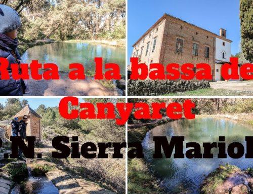 Rutas Sierra Mariola – de la Ermita Santa Bárbara a la Bassa del Canyaret