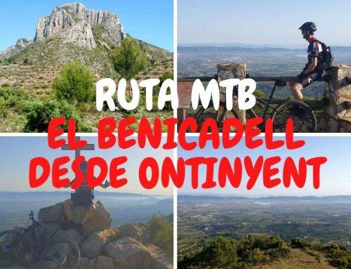 El Benicadell en bicicleta desde Ontinyent